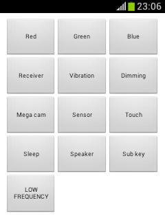 Samsung Mode Test