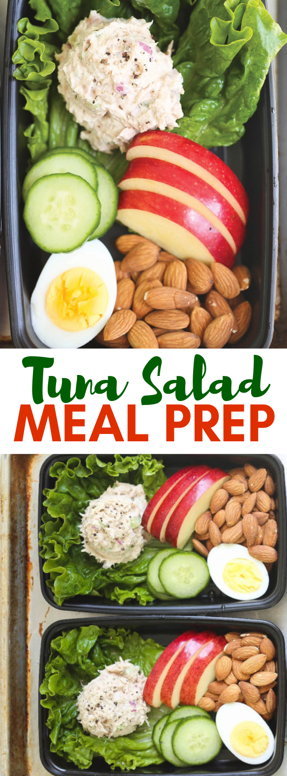 TUNA SALAD MEAL PREP #healthy #diet