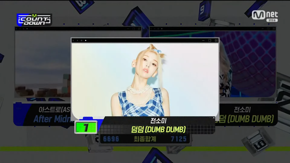 Jeon Somi Takes Home First Win With 'DUMB DUMB' on 'M!Countdown'