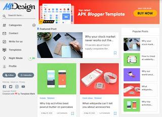 msd-grid-responsive-blogger-template