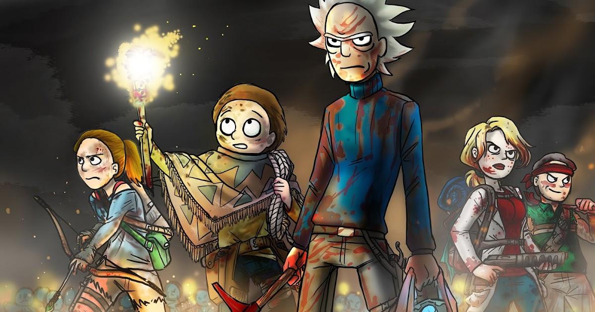 Rick And Morty Warpath 4k