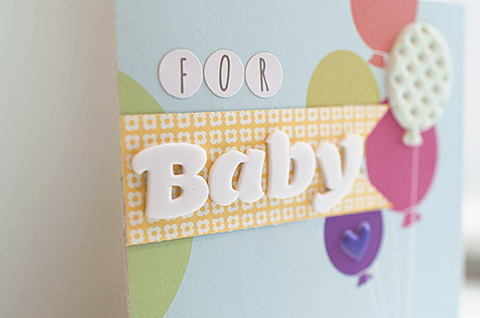 Sei Lifestyle Jungle Themed Baby Shower Card