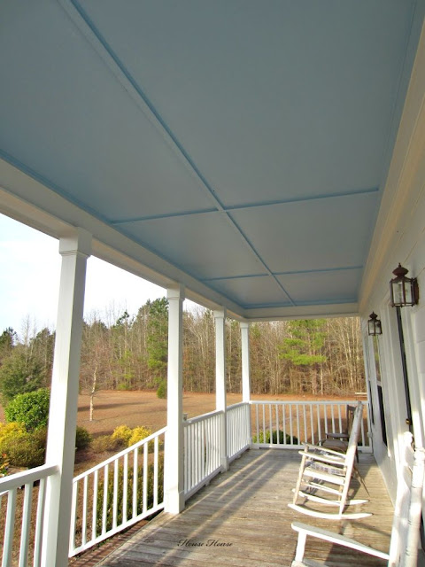 Hibiscus House Hibiscus House Has A Haint Blue Porch Ceiling