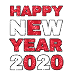 Best and Latest Happy New Year PNG 2020 for Photo Editing Free Download From Pickforedit