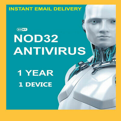 FAST DELIVERY ESET NOD32 Antivirus 2020 ✅1 Year 1 Device