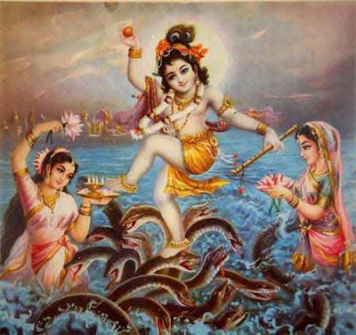 Demon Serpent Kaliya Stayed Here in Yamuna River