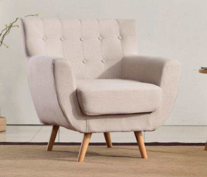 White malist sofa single couch for kids elegant