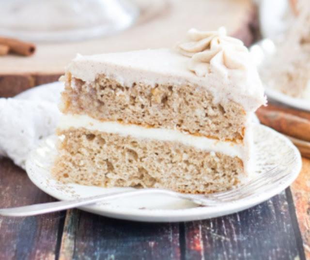 Snickerdoodle Poke Cake Layer Cake
