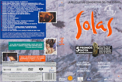 Carátula dvd: Solas (1999) - Cine español