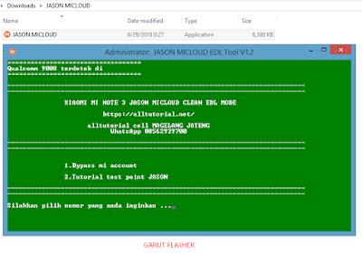 File Micloud Mi Note 3 Jason MCT8, MCG8, MCE8 TESTED FIX ALL Anti Relock Micloud - Belum UBL