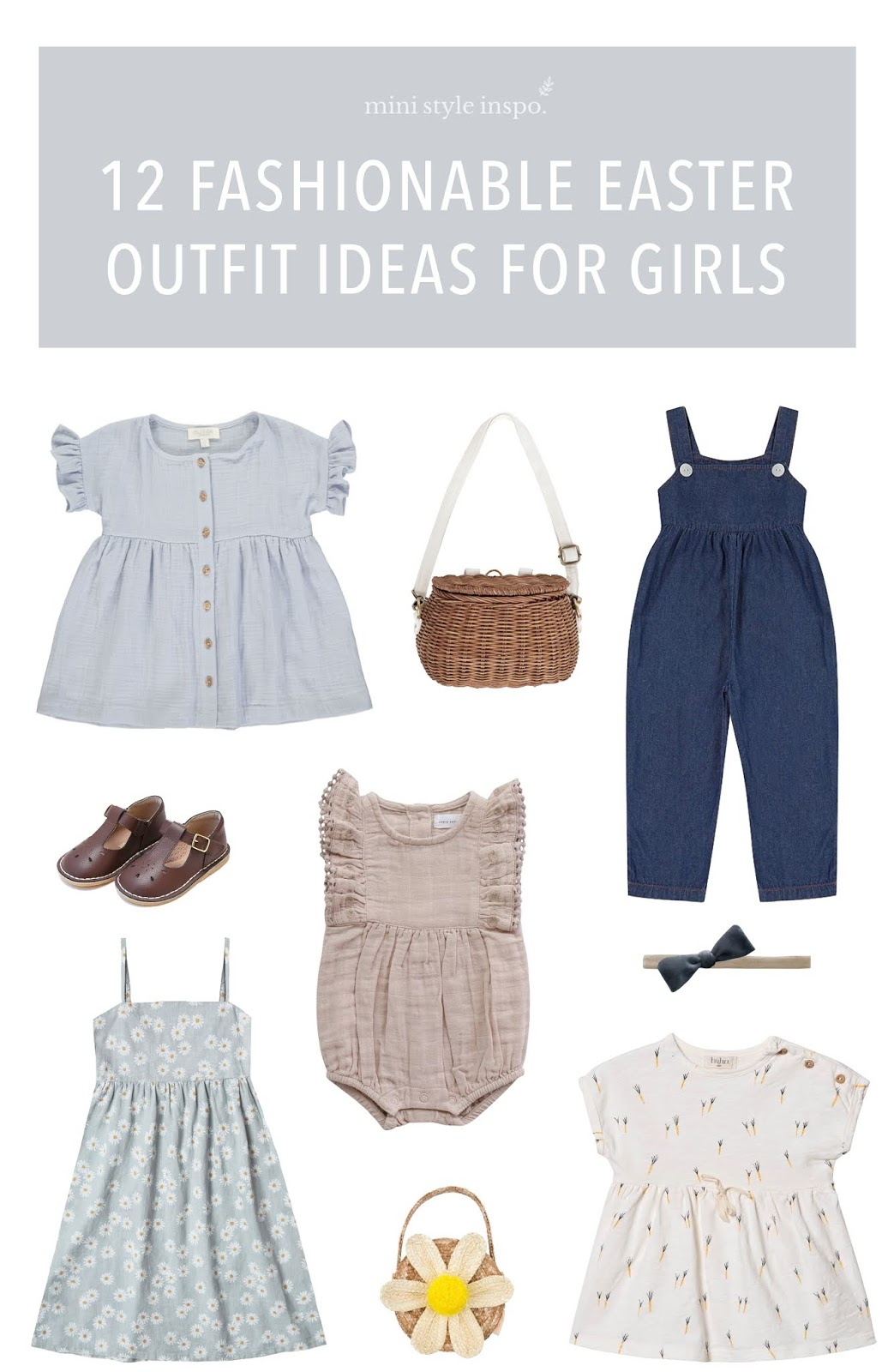 trendy easter outfit ideas for girls
