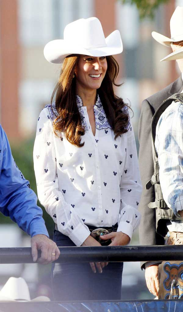 Fashionjewellery Kate Middleton Cowboy Hat