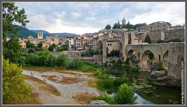 Besalú en Girona