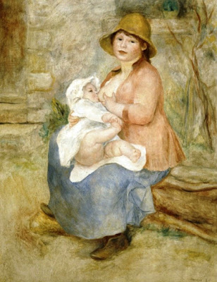 Maternidad, Pierre Augusto Renoir, Museo d´Orsay, París