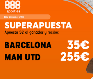 888sport superapuesta champions Barcelona vs United 16 abril 2019