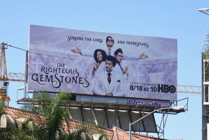 Righteous Gemstones billboard