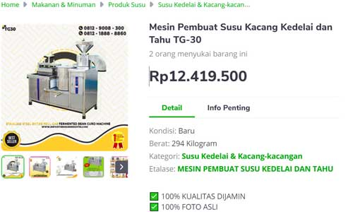 mesin atau alat untuk peluang menghasilkan uang