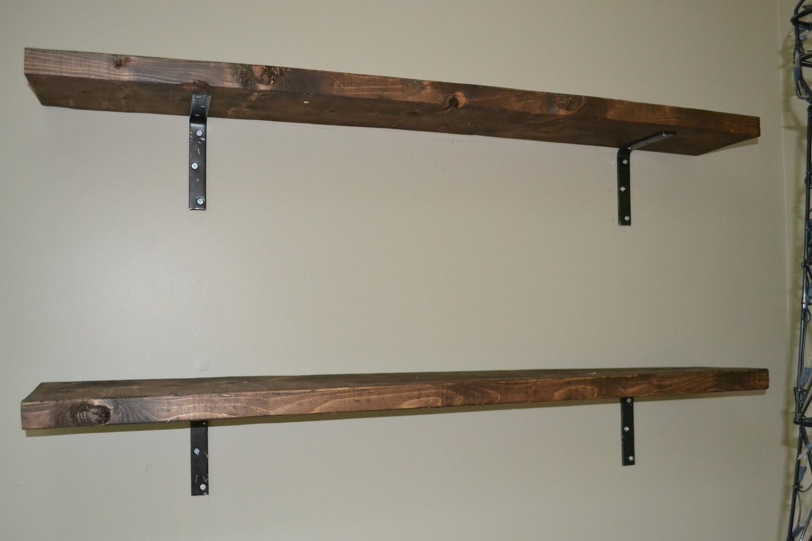 Homemade Shelves 25