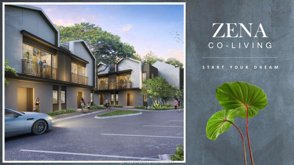 Zena at Mozia BSD Co-Living 2 Lantai