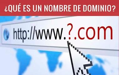 ¿Que es un nombre de dominio?