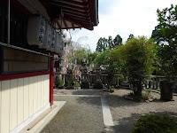 機物神社 拝殿の横