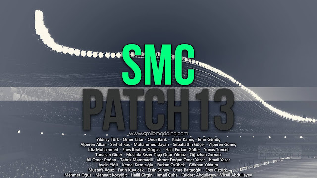 PES 2013 SmilePatch '13 by SmileModding - Released 25/10/2016