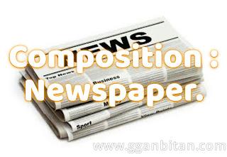 Newspaper composition