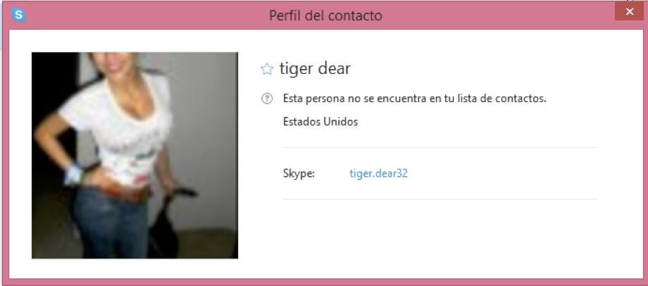 contactos de mujeres por skype