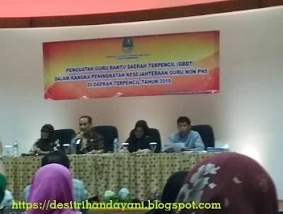 Workshop GBDT SD/MI Provinsi Jawa Barat Tahun 2019