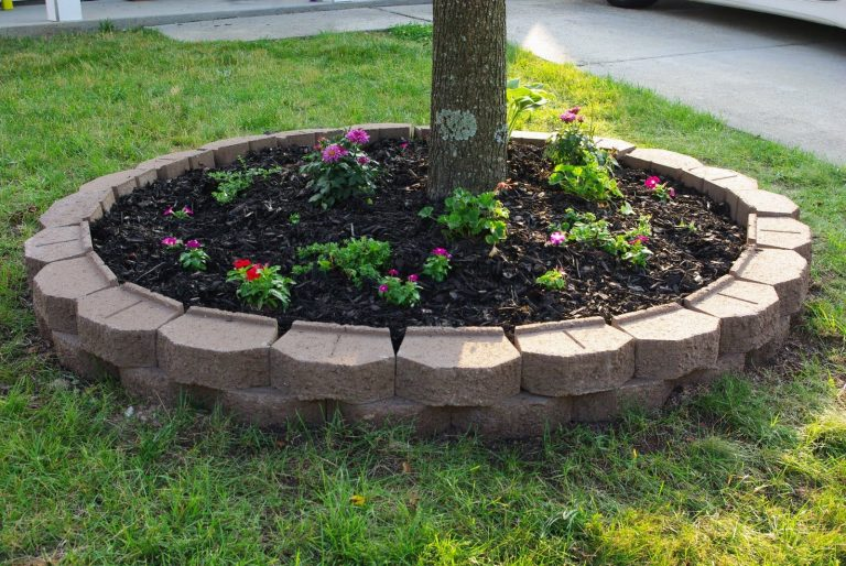 Diy Ideas To Make Round Flower Beds Decor Units