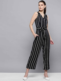 Black-white-stripped-cropped-basic-jumpsuit