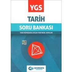 Gezegen YGS Tarih Soru Bankası (2017)