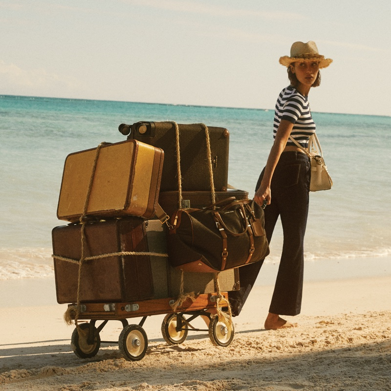 Bella Hadid Takes a Getaway in MICHAEL Michael Kors Summer 2020