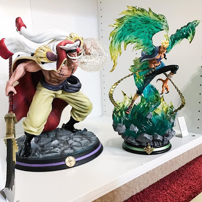 Edward Newgate (Whitebeard) and Marco the Phoenix