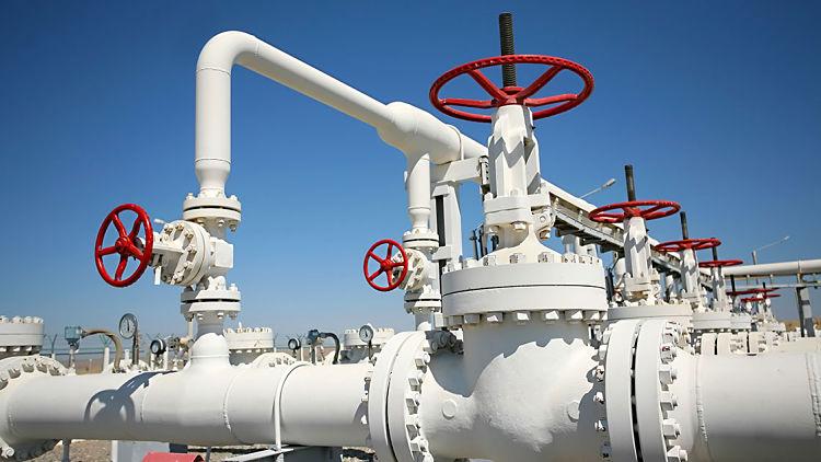 Tuberías de transporte de gas natural