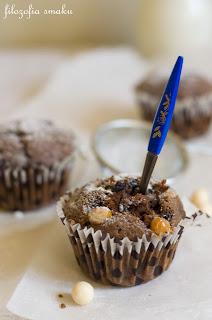 (Muffiny z borówkami i amaretto