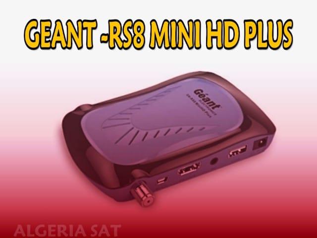 تحميل أخر تحديث جهاز GEANT-RS 8 MINI HD PLUS اصدار2.67