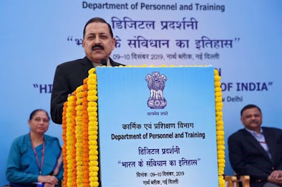 Jitendra Singh inaugurates 'Digital Exhibition on history of Constitution of India'