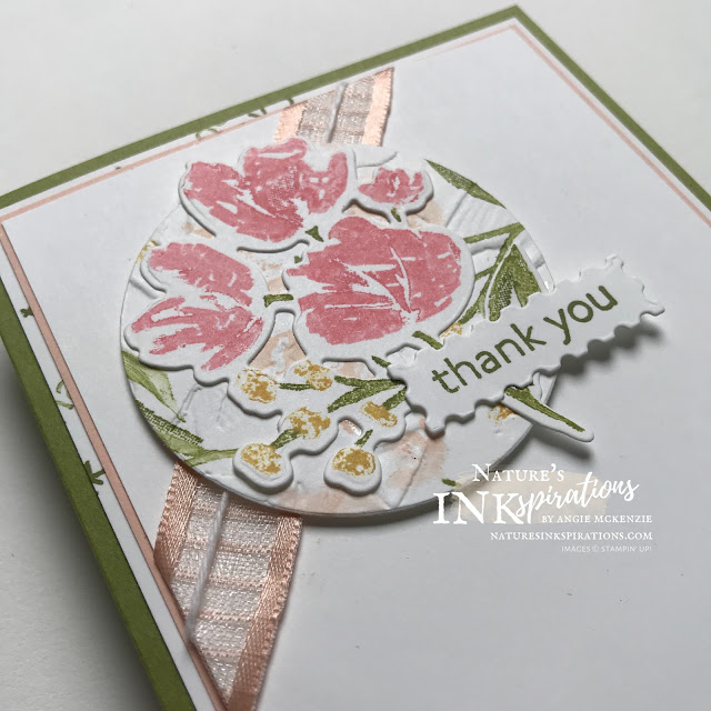 By Angie McKenzie for Bruno and Kylie Bertucci's Demonstrator Training Program Blog Hop; Click READ or VISIT to go to my blog for details! Featuring the Art Gallery Bundle, Layering Circles Dies, and Painted Texture 3D Embossing Folder; #stampinup #handmadecards #naturesinkspirations #thankyoucards #stampingwithmarkers #embossing #cardtechniques #stampinupdemo #artgallerystampset #floralgallerydies #artgallerybundle #layeringcirclesdies #paintedtexture3dembossingfolder #stationerybyangie #brunoandkyliesdemonstratortrainingprogrambloghop #stampingtechniques #makingotherssmileonecreationatatime