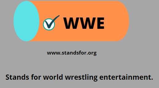 WWE-world wrestling entertainment