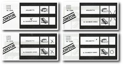 PRU14 : Contoh-Contoh Kertas Undi Yang Rosak/ Ditolak