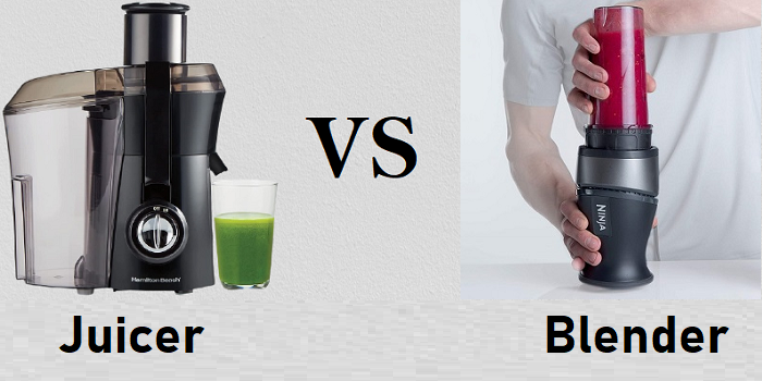 Juicer vs Blender - Which one is healthier?