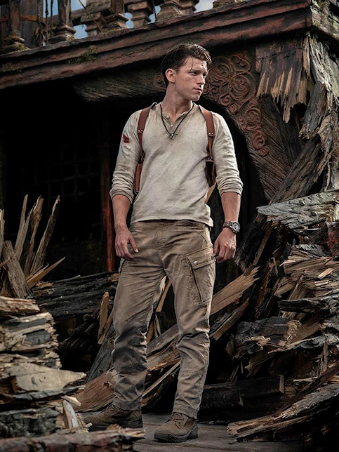 Tom Holland est Nathan Drake dans le film Uncharted