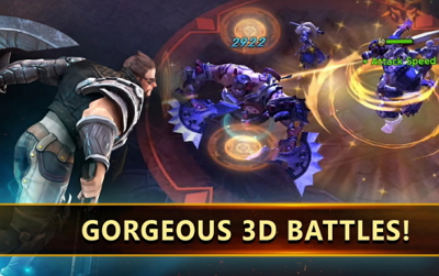 Download Game Dark Rivals APK MOD Attack