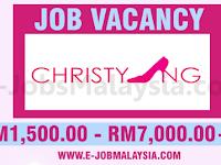 Christy Ng Sdn Bhd - Gaji RM1,500 - RM7,000++ / Minimum SPM