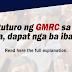 Dapat nga bang ibalik ang GMRC?