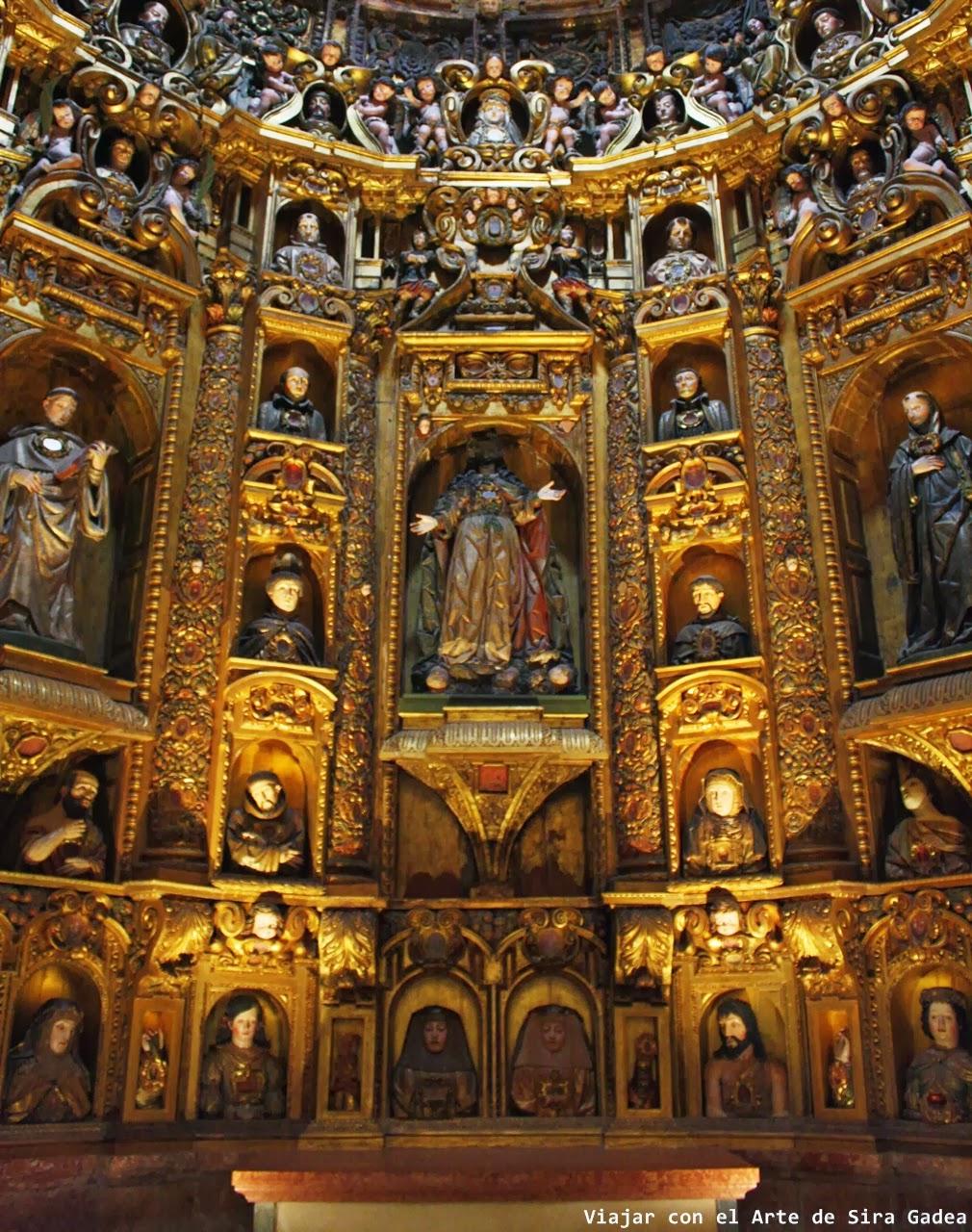 capilla relicario Alcobaça