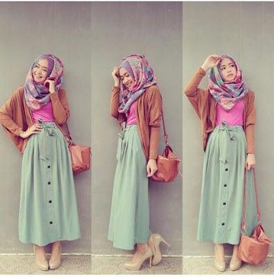 Model Baju Muslim Modern