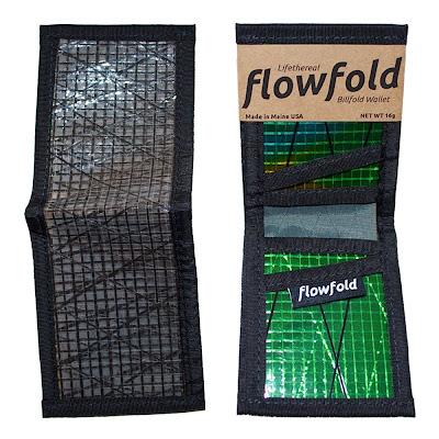 cartera resistente ligera billfold flowfold negra