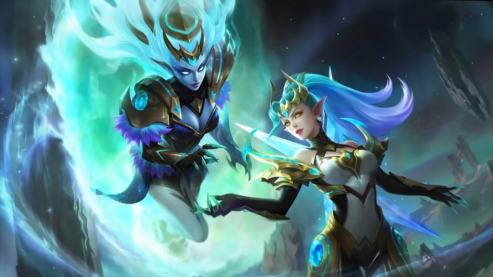Wallpaper Selena Gemini Shadow Skin Mobile Legends HD for PC